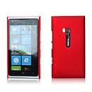 Coque Nokia Lumia 900 Plastique Etui Rigide - Rouge