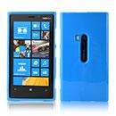 Coque Nokia Lumia 920 Silicone Gel Housse - Bleu