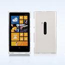 Coque Nokia Lumia 920 Silicone Transparent Housse - Blanche