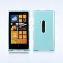 Coque Nokia Lumia 920 Silicone Transparent Housse - Bleu