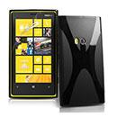 Coque Nokia Lumia 920 X-Line Silicone Gel Housse - Noire