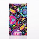 Coque Nokia Lumia 925 Fleurs Plastique Etui Rigide - Mixtes