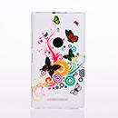 Coque Nokia Lumia 925 Papillon Plastique Etui Rigide - Mixtes