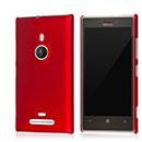 Coque Nokia Lumia 925 Stars Plastique Etui Rigide - Rouge