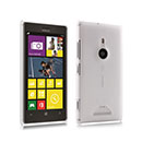 Coque Nokia Lumia 925 Transparent Plastique Etui Rigide - Blanche