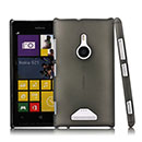 Coque Nokia Lumia 925 Transparent Plastique Etui Rigide - Gris