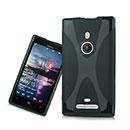 Coque Nokia Lumia 925 X-Line Silicone Gel Housse - Rose Chaud