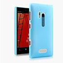 Coque Nokia Lumia 928 Transparent Plastique Etui Rigide - Bleue Ciel
