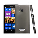 Coque Nokia Lumia 928 Transparent Plastique Etui Rigide - Gris