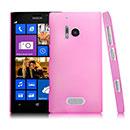 Coque Nokia Lumia 928 Transparent Plastique Etui Rigide - Rose