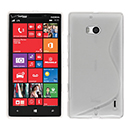 Coque Nokia Lumia 930 S-Line Silicone Gel Housse - Blanche