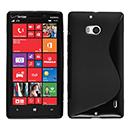 Coque Nokia Lumia 930 S-Line Silicone Gel Housse - Noire