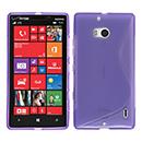 Coque Nokia Lumia 930 S-Line Silicone Gel Housse - Pourpre