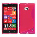 Coque Nokia Lumia 930 S-Line Silicone Gel Housse - Rose Chaud