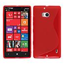 Coque Nokia Lumia 930 S-Line Silicone Gel Housse - Rouge