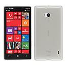 Coque Nokia Lumia 930 Silicone Transparent Housse - Blanche