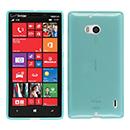 Coque Nokia Lumia 930 Silicone Transparent Housse - Bleu