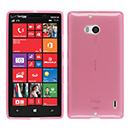 Coque Nokia Lumia 930 Silicone Transparent Housse - Rose