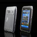 Coque Nokia N8 Diamant TPU Gel Housse - Claire