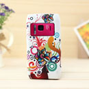 Coque Nokia N8 Fleurs Silicone Housse Gel - Mixtes