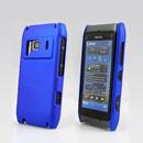 Coque Nokia N8 Plastique Etui Rigide - Bleu