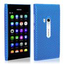 Coque Nokia N9 Filet Plastique Etui Rigide - Bleue Ciel