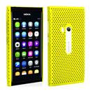 Coque Nokia N9 Filet Plastique Etui Rigide - Jaune
