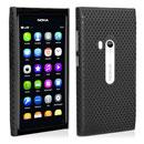 Coque Nokia N9 Filet Plastique Etui Rigide - Noire