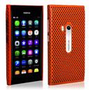 Coque Nokia N9 Filet Plastique Etui Rigide - Orange