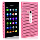 Coque Nokia N9 Filet Plastique Etui Rigide - Rose