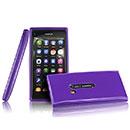 Coque Nokia N9 Silicone Gel Housse - Pourpre