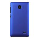 Coque Nokia X Plastique Etui Rigide - Bleu