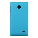 Coque Nokia X Plastique Etui Rigide - Bleue Ciel