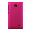 Coque Nokia X Plastique Etui Rigide - Rose Chaud