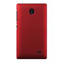 Coque Nokia X Plastique Etui Rigide - Rouge