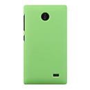 Coque Nokia X Plastique Etui Rigide - Verte