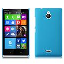 Coque Nokia X2 Plastique Etui Rigide - Bleue Ciel