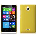 Coque Nokia X2 Plastique Etui Rigide - Jaune