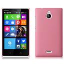 Coque Nokia X2 Plastique Etui Rigide - Rose