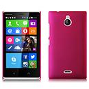 Coque Nokia X2 Plastique Etui Rigide - Rose Chaud