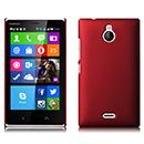 Coque Nokia X2 Plastique Etui Rigide - Rouge
