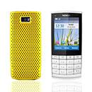 Coque Nokia X3-02 Filet Plastique Etui Rigide - Jaune