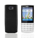 Coque Nokia X3-02 Filet Plastique Etui Rigide - Noire