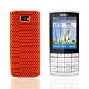 Coque Nokia X3-02 Filet Plastique Etui Rigide - Orange
