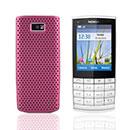 Coque Nokia X3-02 Filet Plastique Etui Rigide - Rose