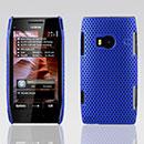 Coque Nokia X7 Filet Plastique Etui Rigide - Bleu