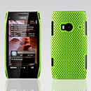 Coque Nokia X7 Filet Plastique Etui Rigide - Verte