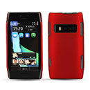 Coque Nokia X7 Plastique Etui Rigide - Rouge