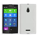Coque Nokia XL S-Line Silicone Gel Housse - Blanche