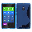 Coque Nokia XL S-Line Silicone Gel Housse - Bleu